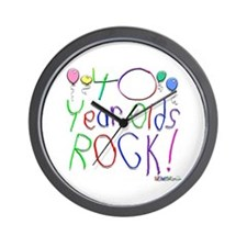 40 Year Olds Rock ! Wall Clock