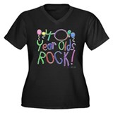 40 Year Olds Rock ! Women's Plus Size V-Neck Dark