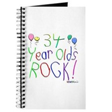 34 Year Olds Rock ! Journal