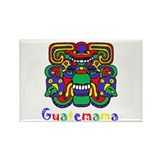 Mayan Guatemama Rectangle Magnet (10 pack)