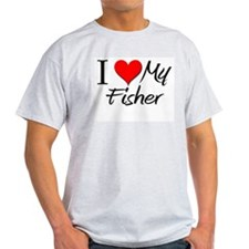 I Heart My Fisher T-Shirt