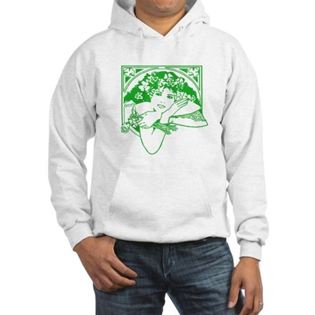 Kiss Me Irish Girl Hooded Sweatshirt