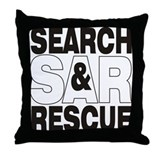 SAR Throw Pillow