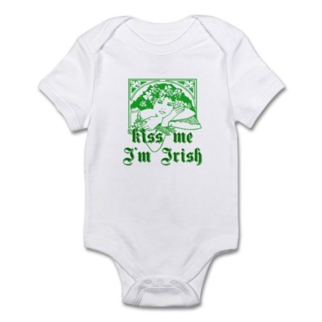Kiss Me Irish Girl Infant Bodysuit