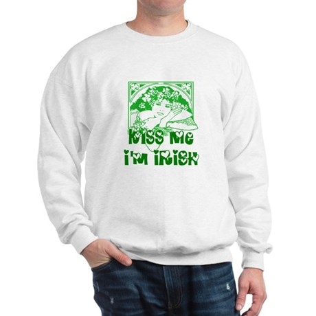 Kiss Me Irish Girl Sweatshirt