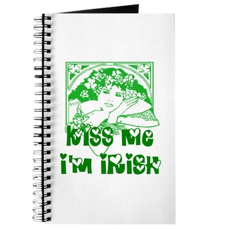 Kiss Me Irish Girl Journal