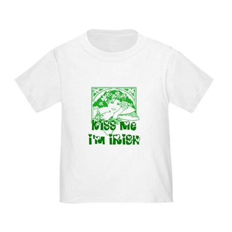 Kiss Me Irish Girl Toddler T-Shirt