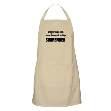 Anti-Gun Control BBQ Apron