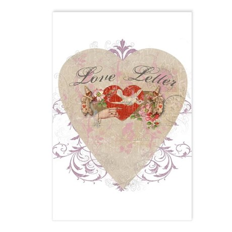 """Love Letter"" Postcards (Package of 8)"