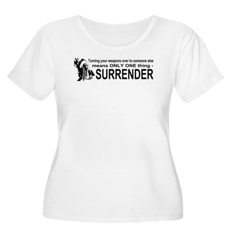 Anti Gun Control Women's Plus Size Scoop Neck T-Sh