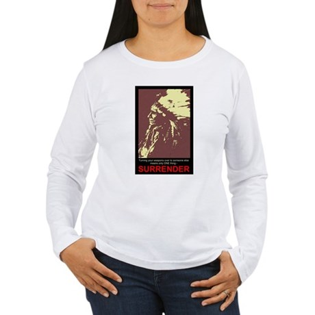 Anti-Gun Control Women's Long Sleeve T-Shirt