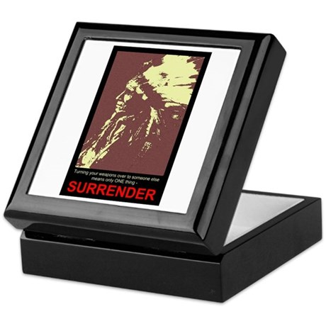Anti-Gun Control Keepsake Box