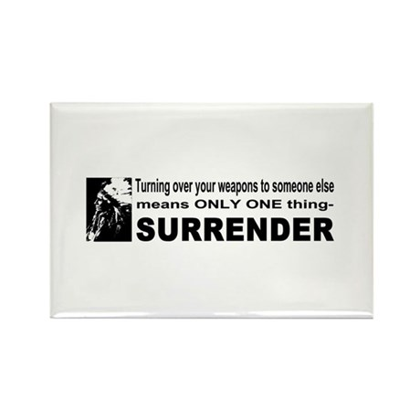 Anti Gun Control Rectangle Magnet (100 pack)