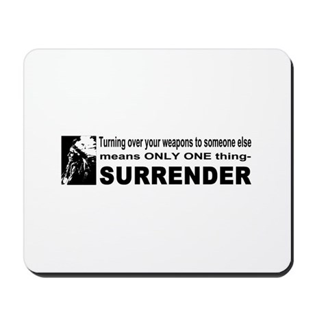 Anti Gun Control Mousepad