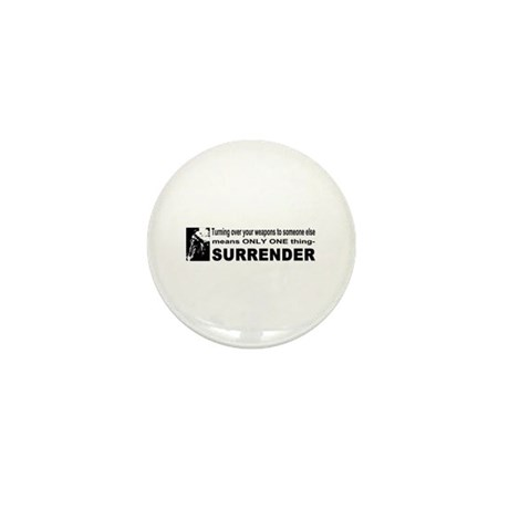 Anti Gun Control Mini Button (10 pack)