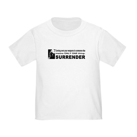 Anti Gun Control Toddler T-Shirt