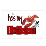 my lobster Postcards (Package of 8)
