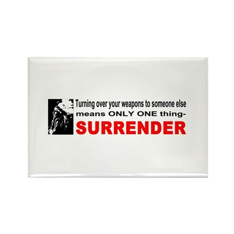 Anti Gun Control Rectangle Magnet (10 pack)