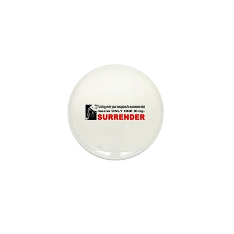 Anti Gun Control Mini Button (100 pack)