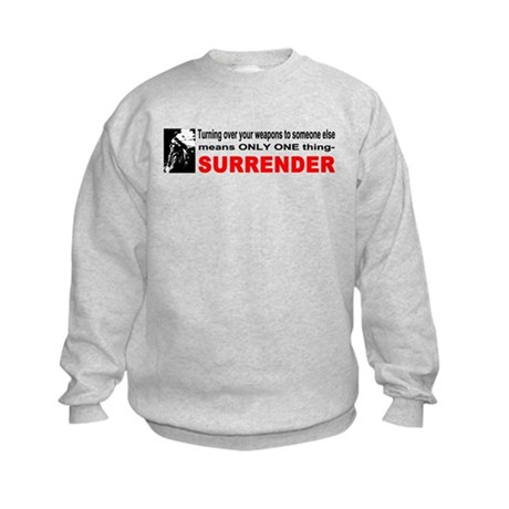 Anti Gun Control Kids Sweatshirt