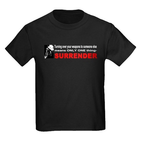 Anti Gun Control Kids Dark T-Shirt
