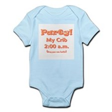 Party at My Crib! Infant Bodysuit