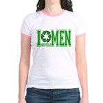 I Recycle Men Jr. Ringer T-Shirt
