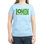 I Recycle Men Women's Pink T-Shirt