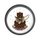 Let Them Eat Cake (no milk) Wall Clock