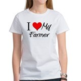 I Heart My Farmer Tee
