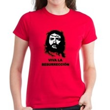 Viva La Resurreccion (red glow) Tee