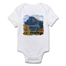 Cute National park yosemite Infant Bodysuit