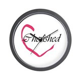 Cherished Heart Wall Clock