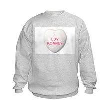I Love Mitt Romney Sweatshirt