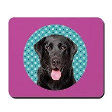 Black Lab Pop Mousepad