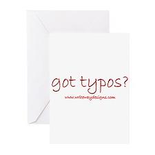 Got Typos? Greeting Cards (Pk of 20)