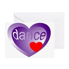 Dance Student Valentine Greeting Cards (Pk of 10)