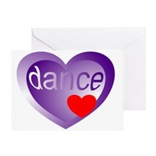 Dance Student Valentine Greeting Card