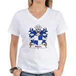 Moore Family Crest Women's V-Neck T-Shirt