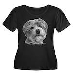 Biscuit, Shih Tzu-Terrier Women's Plus Size Scoop