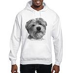 Biscuit, Shih Tzu-Terrier Hooded Sweatshirt