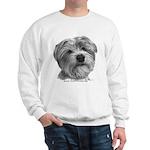 Biscuit, Shih Tzu-Terrier Sweatshirt