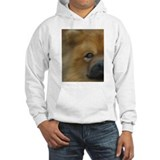Beautiful Side View Chow Chow Jumper Hoody