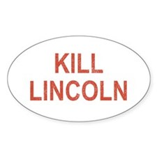 Kill Lincoln High School Oval Decal