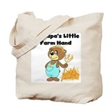 Grandpa's Little Farmhand Tote Bag