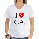 I Love CA Shirt