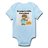 Grandpa's Little Farmhand Infant Bodysuit