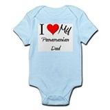 I Love My Panamanian Dad Infant Bodysuit
