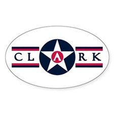 Clark Air Base Oval Decal