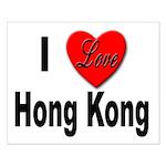 I Love Hong Kong Small Poster